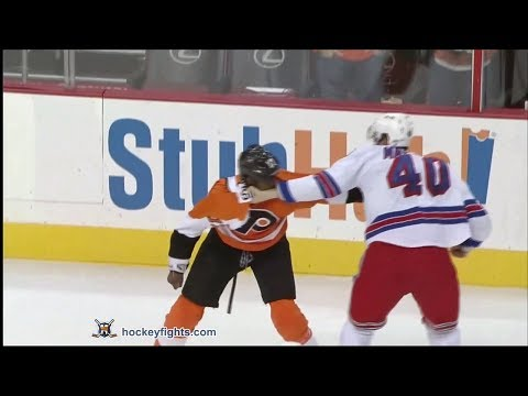 Brandon Mashinter vs Wayne Simmonds