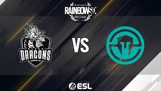 R6 Pro League - Season 9 - LATAM - Black Dragons vs. Immortals - Coastline- Week 13