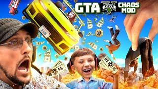 GTA 5 CHAOS MOD! Every 30sec Something Bad Happens!  Roblox Robux vs Chores Challenge (FGTeeV)