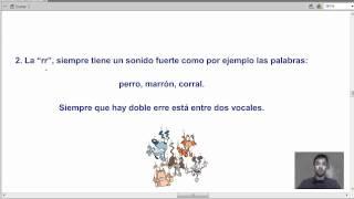 regla de la r-rr - gramática española