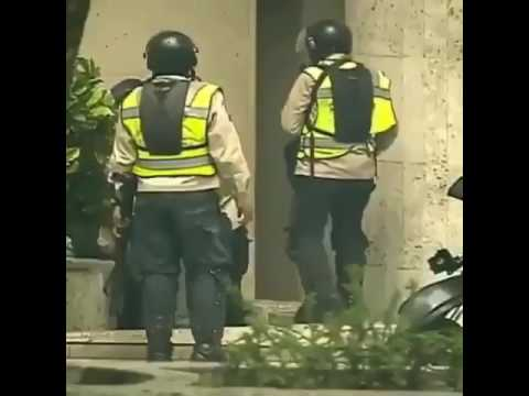 Actos de vandalismo Policia nacional Bolivariana Altamira 5/06/2017