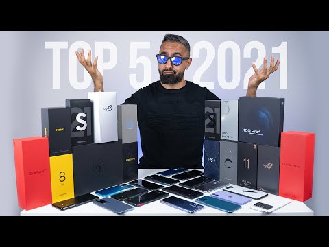 Top 5 BEST Smartphones of 2021.... So Far