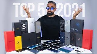 Top 5 BEST Smartphones of 2021 - So Far
