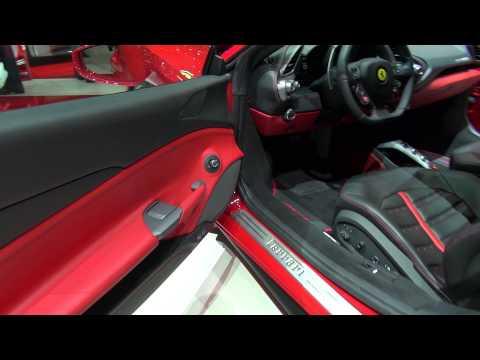 [50p] Ferrari 488 GTB in superdetail exterior and interior at Geneva 2015