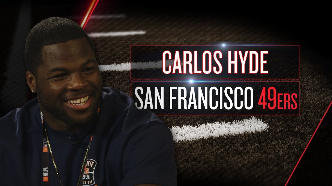 Carlos Hyde on new 49ers role, other San Francisco backs, bay area (2014 NFLPA Rookie Premiere) thumbnail