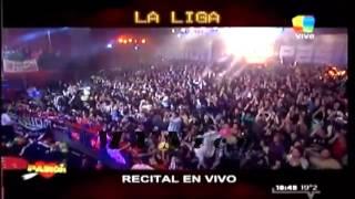 LA LIGA - ENTRE EL CIELO VOS Y YO - EN VIVO PASION 1 De Junio 2013