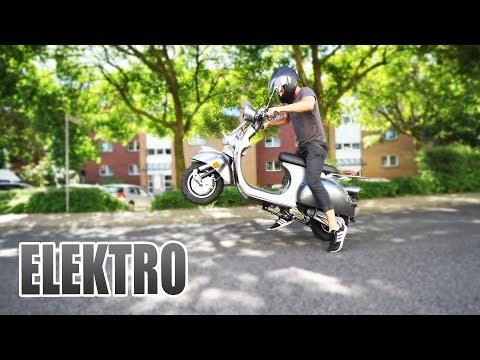 DER COOLSTE RETRO ELEKTRO ROLLER   Futura Classico Unboxing - Review - Test [Deutsch/German]