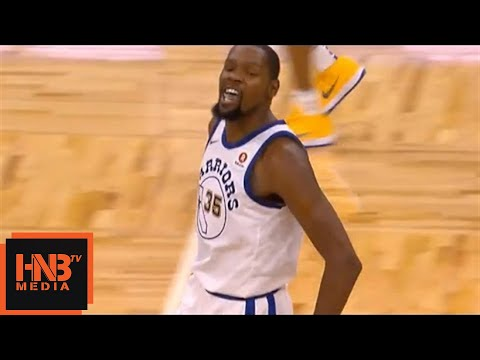 Kevin Durant Ejected From The Game / GS Warriors vs Magic