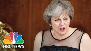 British Prime Minister Theresa May Says Russia Is 'Seeking To Weaponize Information' | NBC News