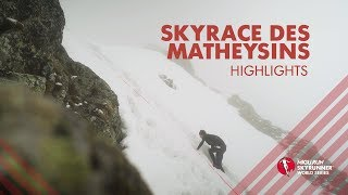 SKYRACE DES MATHEYSINS 2019 – HIGHLIGHTS / SWS19 – Skyrunning
