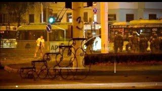 Появилось видео момента гибели протестующего в Беларуси