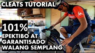 CLEATS TUTORlAL -  100% WALANG SEMPLANG