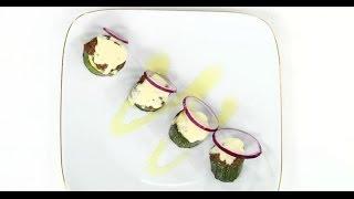 Фаршированные кабачки под сыром   7 нот вегетарианской кухни