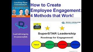 How To Create Employee Engagement: 4 Leadership Methods That Work-Leadership Training