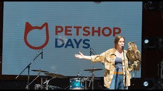 Встреча с филином Ёлкой на фестивале Petshop Days. Небольшая лекция о совах