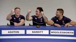Vernon Kay with England Rugby - name that player
