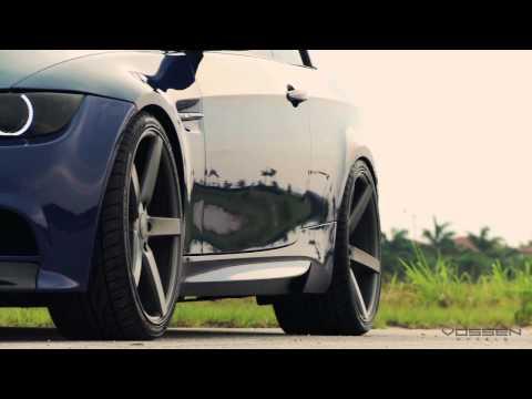 """BMW M3 Convertible on 20"""" Vossen VVS-CV3 Concave Wheels / Rims"""