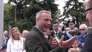 preview picture of video '02 giugno 2014 - Luino - inaugurazione tratto di lungolago'