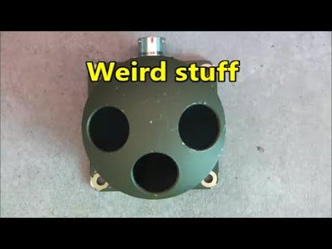 British military laser sensor ( maybe ???) teardown