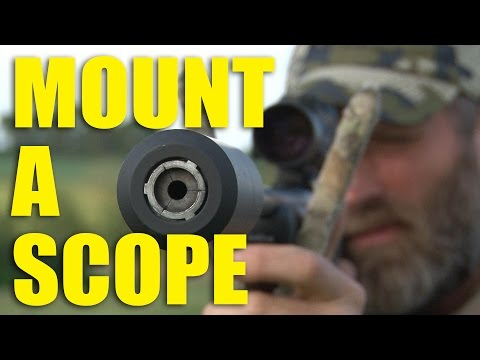 How not to miss – Mounting a scope