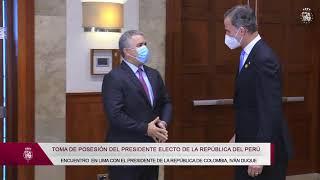Encuentro con el Presidente de la República de Colombia, Iván Duque