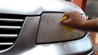 Download Youtube: TUTORIAL, COMO PULIR FAROS DE AUTO PROFESIONALMENTE EN SEGUNDOS