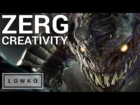 StarCraft 2: AWESOME ZERG CREATIVITY!