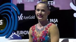 REPLAY - 2019 Aerobics Europeans - Junior Individual Women final
