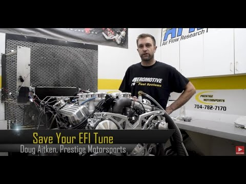 How to Save Your Tune on the Holley Terminator X EFI Kit with Prestige Motorsports