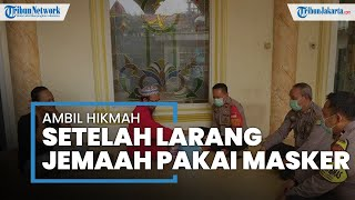 Setelah Viral Larang Jemaah Pakai Masker, Ketua DKM Al-Amanah Bekasi Petik Pelajaran Barharga