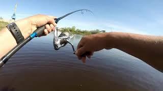 Ловля рыбы на реке тверца