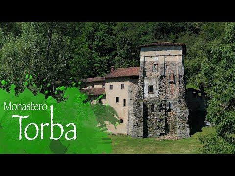 Il Monastero di Torba visto dal drone