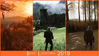 2019 BIG The Witcher 3 Lighting comparison  Extreme modded graphic comparison