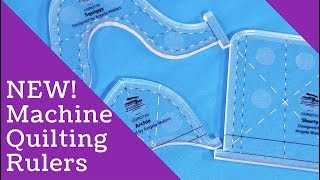 Brand New Machine Quilting Rulers From Angela Walters & Creative Grids