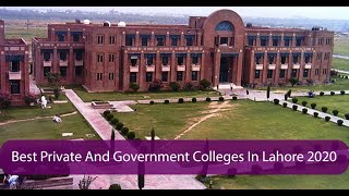 The List Of The Best Private And Government Colleges In Lahore 2020 | Gossip.pk