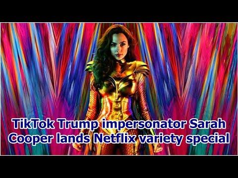 TikTok Trump impersonator Sarah Cooper lands Netflix variety special