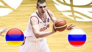 Armenia v Russia - Full Game - FIBA U20 European Championship Division B 2018