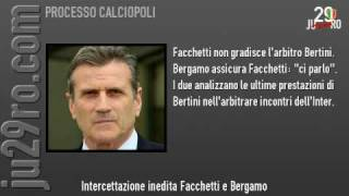 Intercettazioni Inedite: Facchetti E Bergamo Del 26/11/04