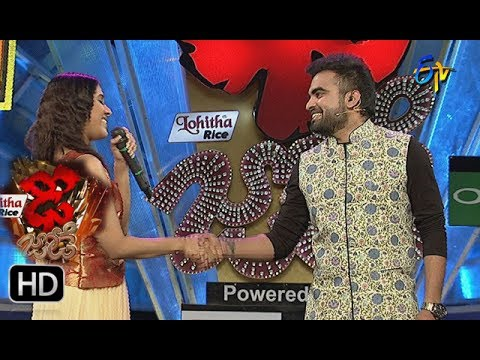 Reshmi & Sudheer Intro | Dhee Jodi | 31st  May 2017 | ETV Telugu