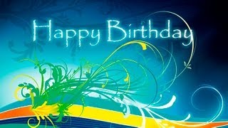 Happy Birthday Video E-Cards, Happy Birthday animation
