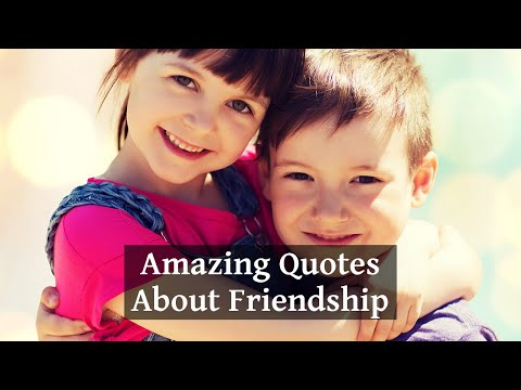 Download 20 Amazing Quotes About Friendship That Will Touch Your Heart Mp4 HD Video and MP3