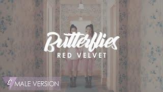 MALE VERSION | Red Velvet - Butterflies