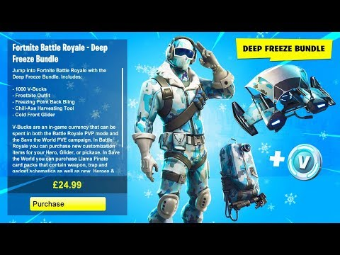 deep freeze skin fortnite