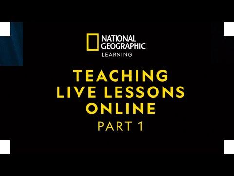 Teaching Live Lessons Online: Part 1