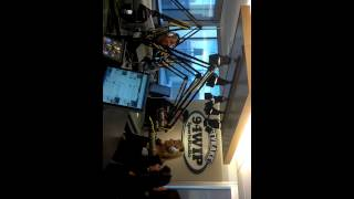 Juggy Girls at 94 WIP morning show