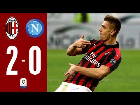 HIGHLIGHTS : AC MILAN 2-0 NAPOLI I COPPA ITALIA - 1/4 - FULL HD I Presented by MilanistA Design.