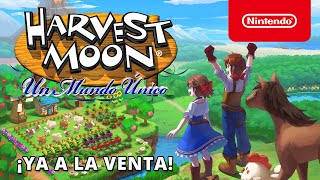 Nintendo  Harvest Moon: Un Mundo Único – Ya disponible (Nintendo Switch) anuncio