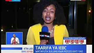 Mwenyekiti wa tume ya IEBC Wafula Chebukati aongoza makamishna kwa mkutano Naivasha