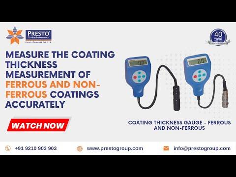 Coating Thickness Gauge Non Ferrous