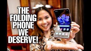 GALAXY Z FLIP HANDS-ON: THE FOLDING PHONE WE DESERVE!